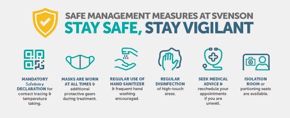 Safe Management Measures at Svenson